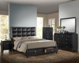 #355BK 8PC King Bedroom Set